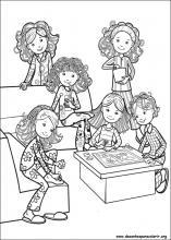Desenhos Do Groovy Girls Para Colorir