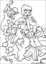 desenhos do peter pan 2 para colorir