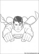 Desenhos do Superman para colorir