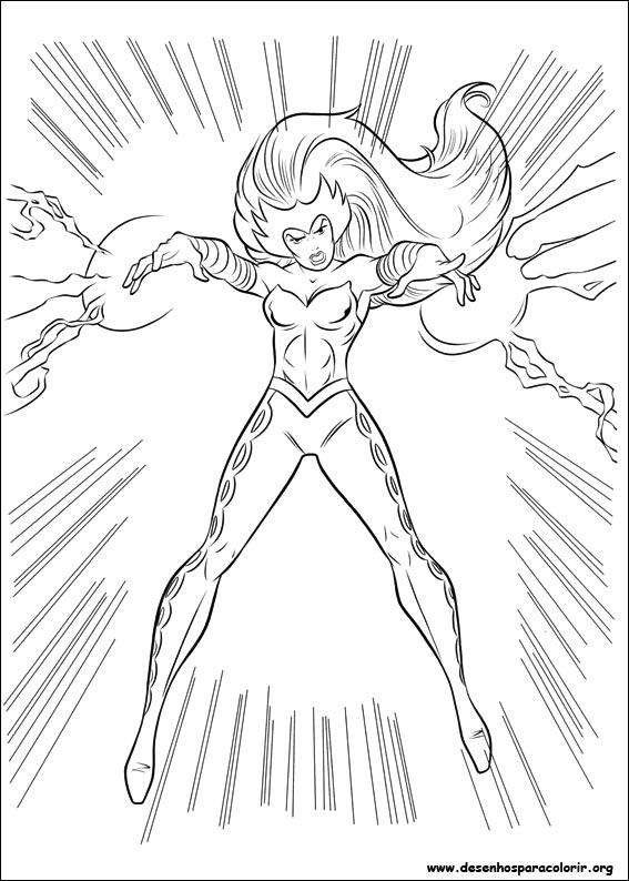 Mighty Avengers Coloring Pages : Thor para colorir