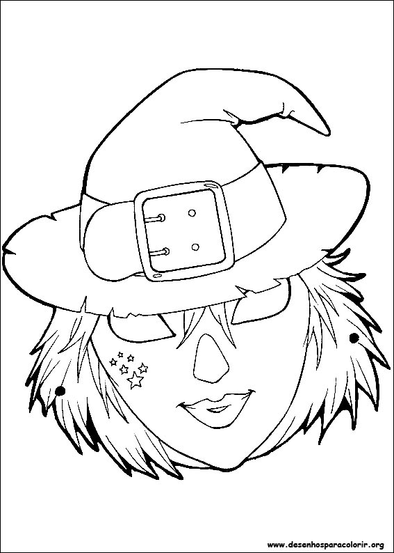 Desenhos do m scaras de halloween para colorir no jogos - Coloriage masque halloween imprimer ...