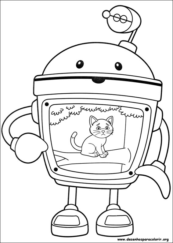 Umizoomi para colorir for Umizoomi coloring pages